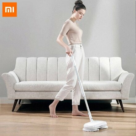 Беспроводная электро-швабра Xiaomi Dreame Cordless Spray Spin Mop MRO3
